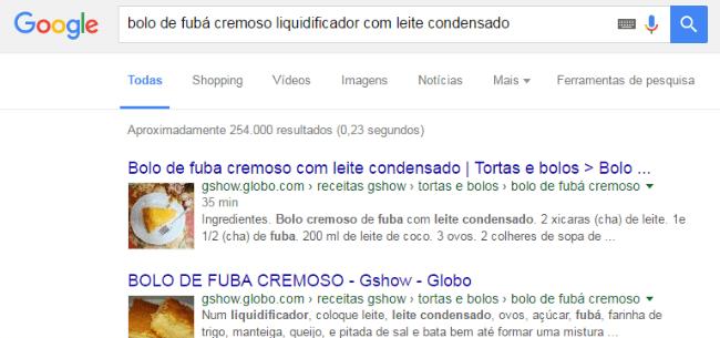 palavra chave no google