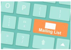 fazer a primeira venda através de lista de email