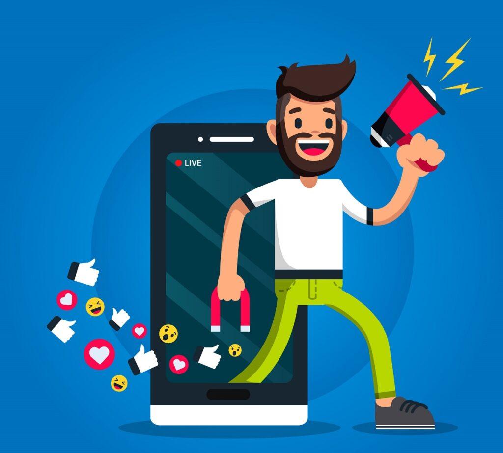 Ganhar dinheiro online através das redes sociais